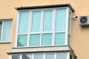 Французское остекление балконов в Севастополе