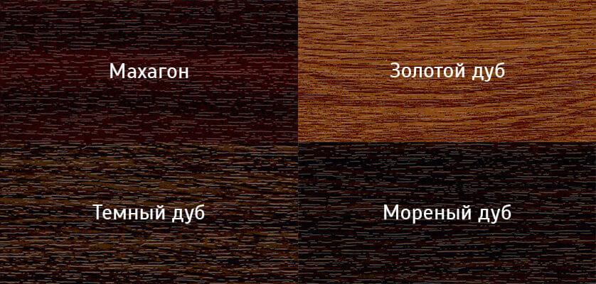 Цвета ламинации REHAU