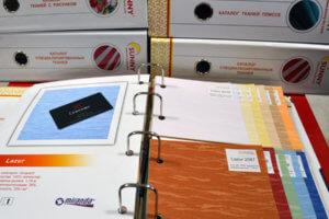Каталог тканей рулонных штор