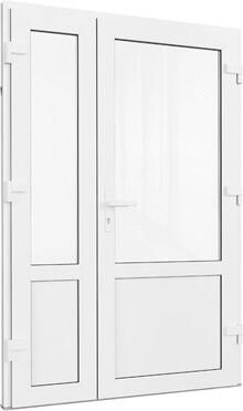 Пластиковая входная дверь со штульпом Севастополь