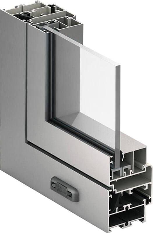 Алюминиевые окна Алютех ALT-C48 в Севастополе
