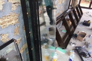 Монтаж окон из алюминия в Севастополе