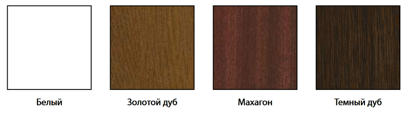 Цвета ламинации профиля Elex в Севастополе