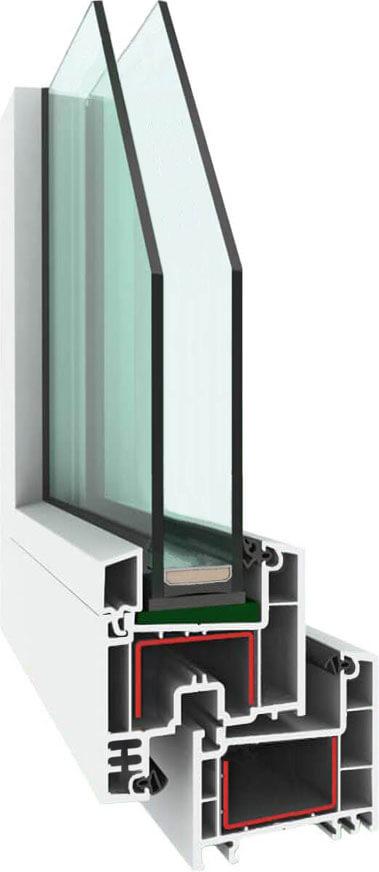 Пластиковые окна Elex 58 завода Горница в Севастополе