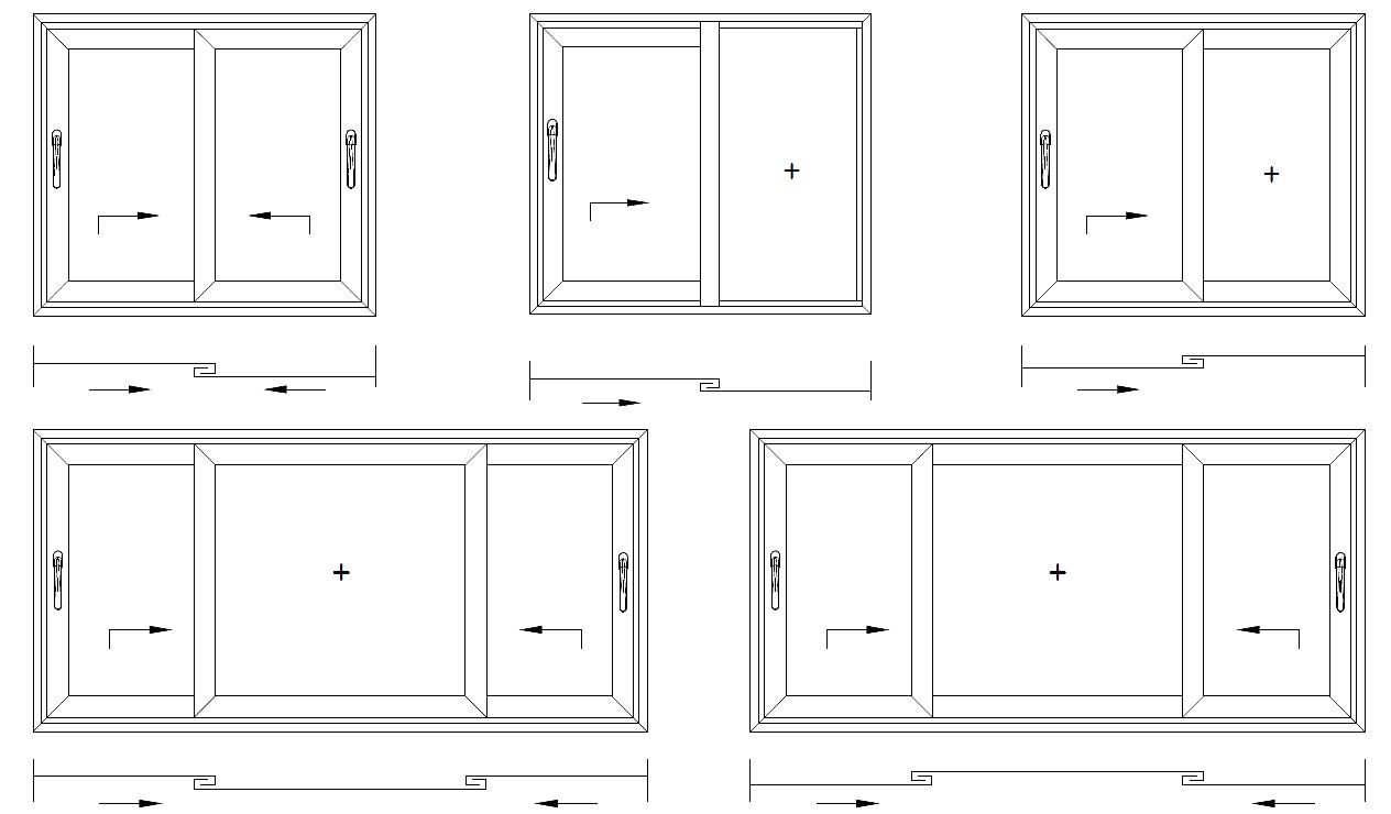 Варианты конструкций из алюминиевого профиля ALT-SL160 в Севастополе